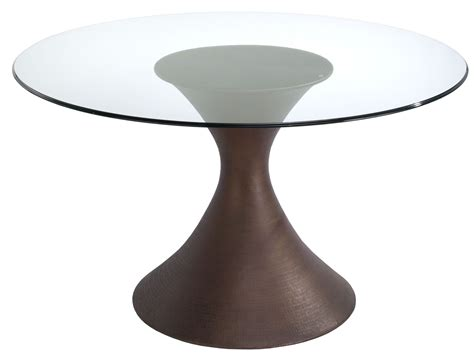 Casablanca Glass Casablanca Glass Top Dining Table From Brownstone Ca303