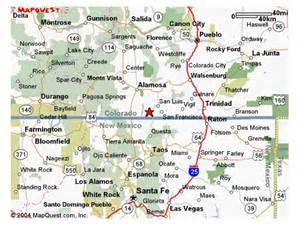 new mexico and colorado map colorado land for sale land for sale in colorado by