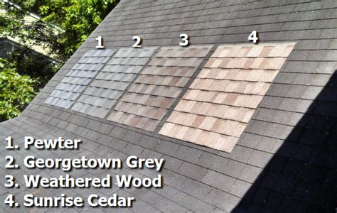georgetown colors choosing your roof colors