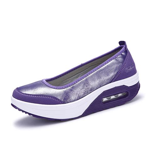 dress shoes with athletic sole casual rocker sole shoes outdoor sport slip on flats