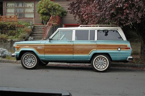 1986 Jeep Grand Wagoneer Parked Cars His And Jeeps 2 1986 Jeep Grand