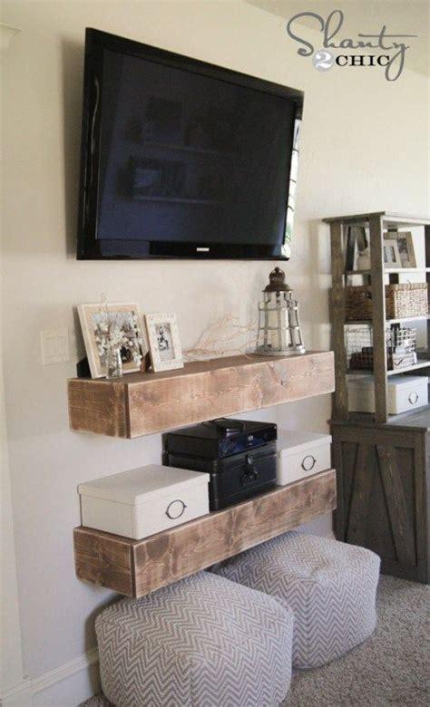 hanging tv  wall ideas  pinterest hanging