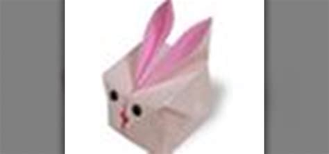 Origami Balloon Bunny - how to origami a balloon rabbit japanese style 171 origami