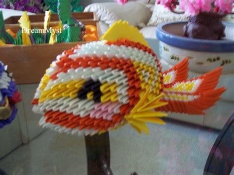 3d Origami Koi Fish - 3d origami koi fish images