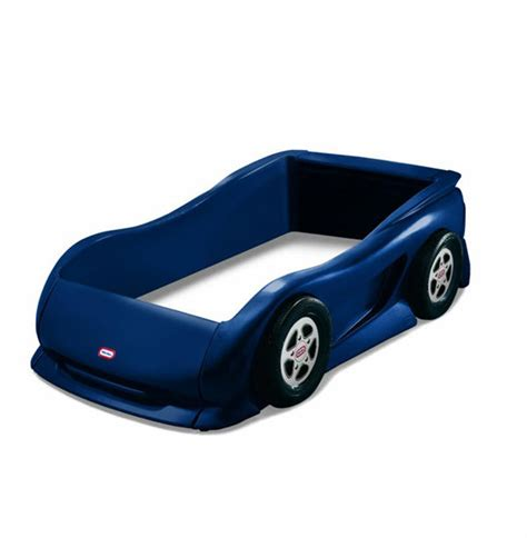 little tikes blue car toddler bed twin sports car bed for kids little tikes