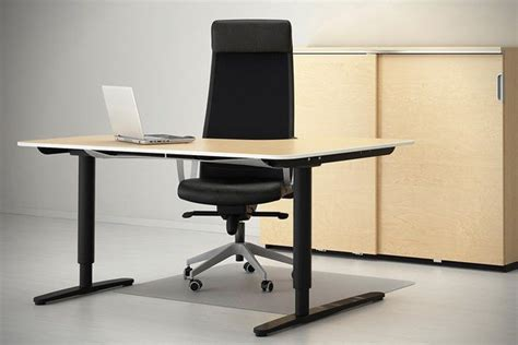 ikea sit stand desk review bekant standing desk by ikea ergonomic office furniture