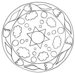 Simple mandala coloring pages az coloring pages