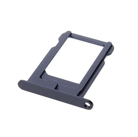 Nano Sim Tray Iphone new black nano sim card tray slot holder replacement for