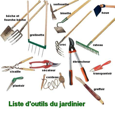 les outils pour le potager