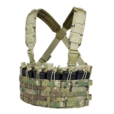 Chest Rug by Condor Rapid Assault Chest Rig Multicam Mcr6 Tactical