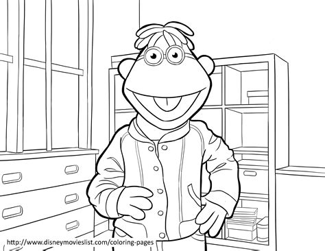 coloring page from photo muppet coloring pages disney s the muppets coloring pages