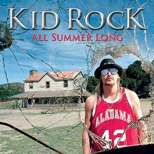 all summer kid rock song