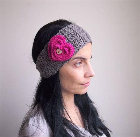 crochet pattern heart headband pdf crochet pattern heart headband earwarmer diy