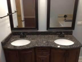 Vanity 30 Inch Bathrooms With Black Granite Countertops Furniture