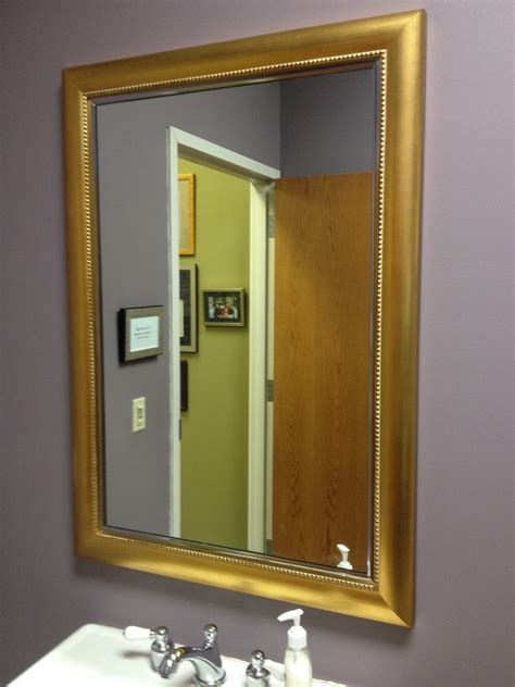 custom bathroom mirrors framed custom cut mirrors mirror frames naperville il