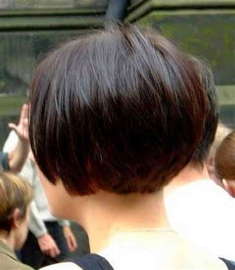 very short side view of stacked haircut pictures straight and blunt side swept bob hairstyle blunt