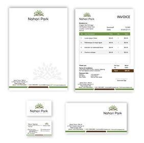 desain kartu nama properti portofolio desain stationery design sribu