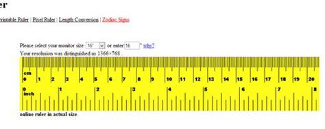 regla en pulgadas para imprimir regla online para medir desde tu pantalla