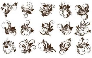floral ornaments element clip arts free clip art