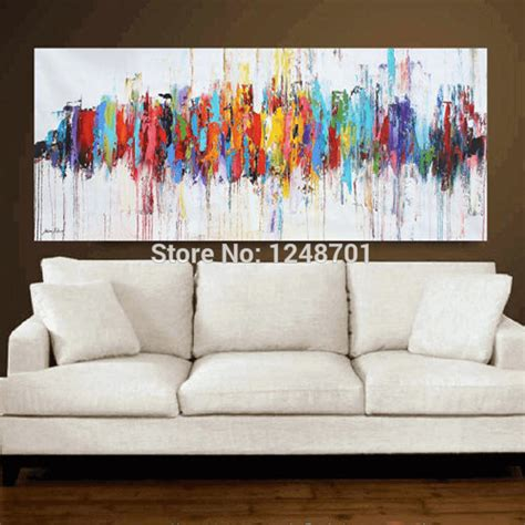 abstract art home decor aliexpress com buy modern abstract oil paintings on