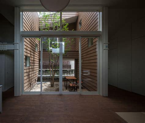 small modern japanese house design a modern japanese house with a surprise garden inside design milk
