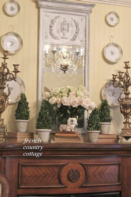 Bedroom Mantel Decorating Ideas by Country Cottage Bedroom Mantel Fireplace Decor
