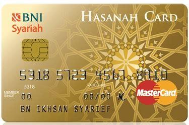 Hasanah Card By Kartu Kredit Bni kartu kredit syariah bni syariah gold syariahbank