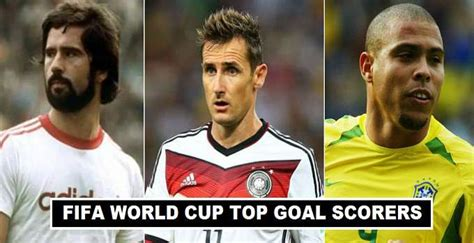 World Cup Top Scorers Fifa World Cup Top Goal Scorers Of All Time