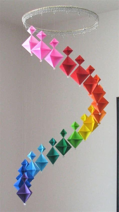Origami Crafts Ideas - origami falten blume sterne tiere als deko im
