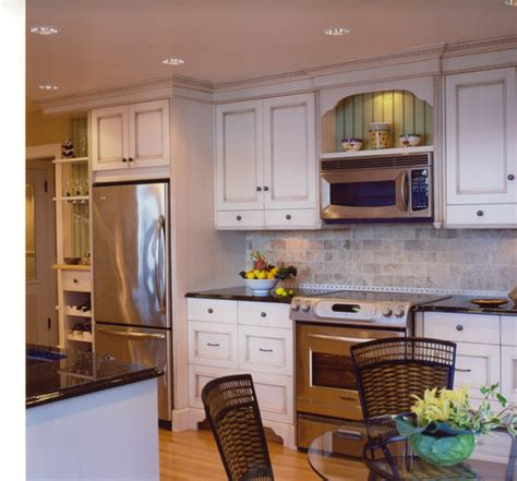 install over the range microwave without cabinet where do you place a microwave in a kitchen plan