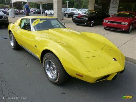1975 wheels corvette stingray 1975 chevrolet corvette stingray coupe exterior photos