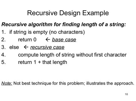 What Is The Base In The Recursive Algorithm For A Binary Search Of A Sorted Array Recursion