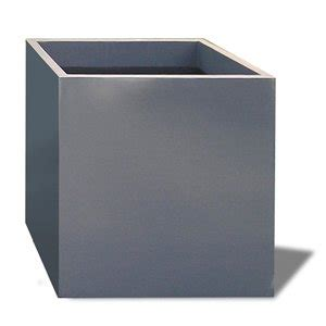 Fiberglass Planters Large by Montroy Large Fiberglass Cube Planter