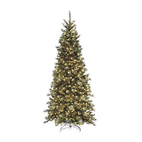 national tree co tiffany fir 9 green slim artificial national tree company 7 1 2 foot tiffany slim fir tree pre
