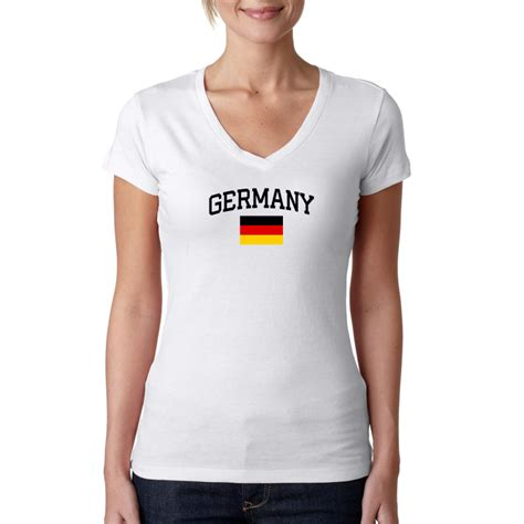 T Shirt Kaos Germany Chiosns White germany shirt world cup country pride the sports ego