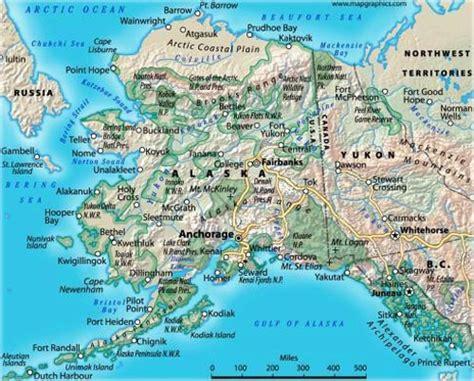 map of alaska usa outdoor 187 alaska