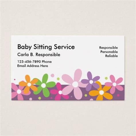 Babysitting Card Template by 197 Best Avery Business Cards Images On Avery