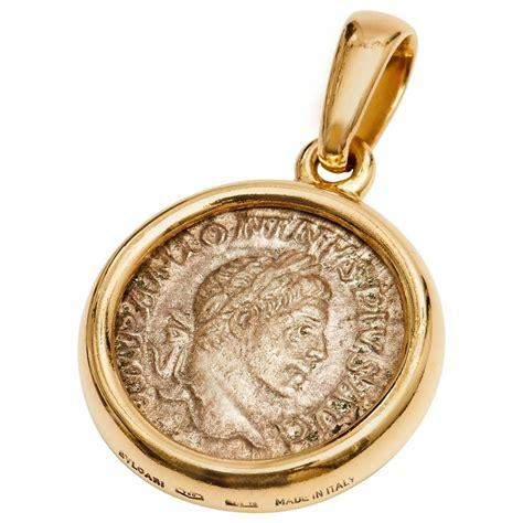 Coins Necklace bulgari gold coin pendant metal crafting