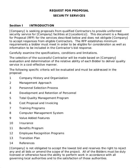 Security Company Proposal Template Best Images Of Simple Security Guard Services Sle Site Security Business Template