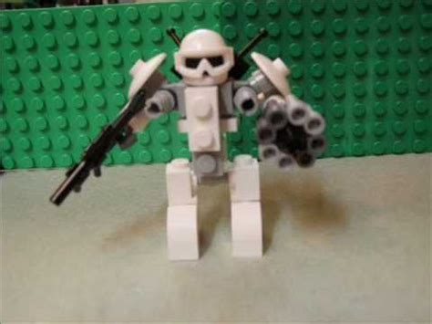 lego robot tutorial build lego mech tutorial youtube