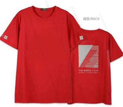 Kaos Tshirt Bts Wings kpop bts tshirt wings you never walk alone t shirt bangtan boys jung kook unisex ebay