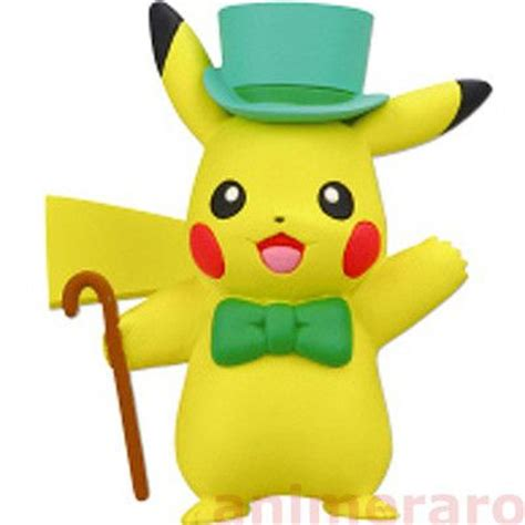 Figure Pikacu Pikachu Isi 4 bw black white pikachu collection part2 figure quot dressed up quot tomy ebay wish list