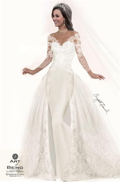 hochzeitskleid prinzessin kate stunning princess kate elizabeth emanuel designs 7