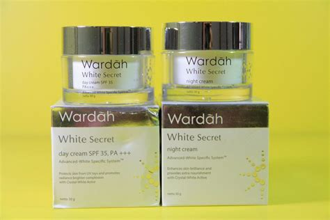 Harga Wardah White Secret Set wardah white secret day toko kosmetik bpom