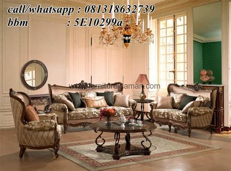 Kursi Sofa Angin kursi sofa set ruang tamu mewah ksi 13 furniture idaman