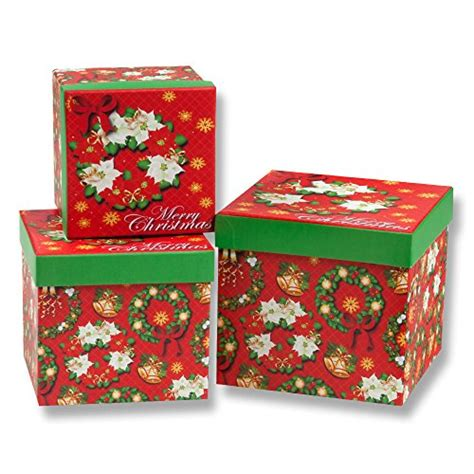 christmas nesting gift boxes compare buy christmas