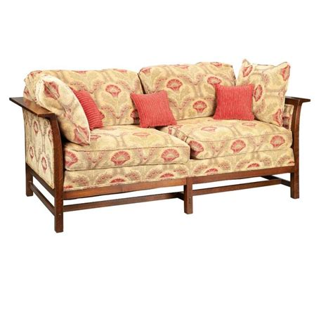 arts and crafts sofa arts and crafts style loveseat