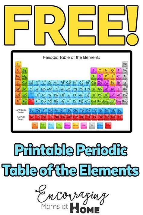 printable periodic table science geek best 25 periodic table printable ideas on pinterest