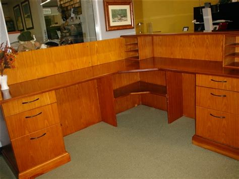 Used Reception Desks Used Reception Desk