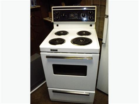 Apartment Oven Repair White Westinghouse Apartment Size Manual Clean Stove